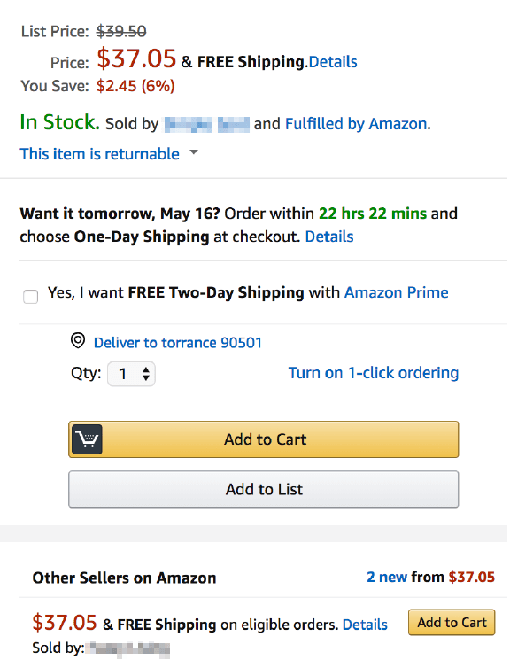 Before Amazon listing (1)