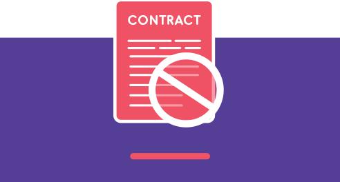 No Long-Term Contract