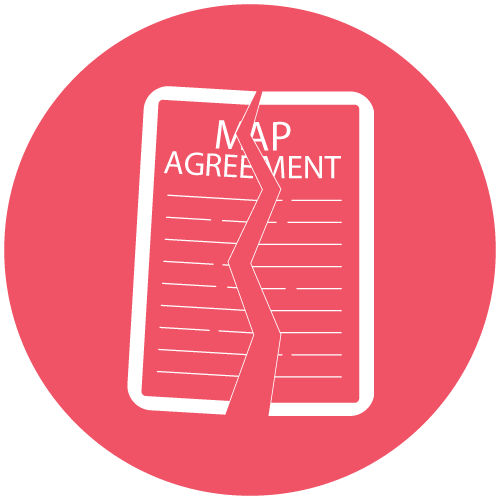 MAP Agreement Violations